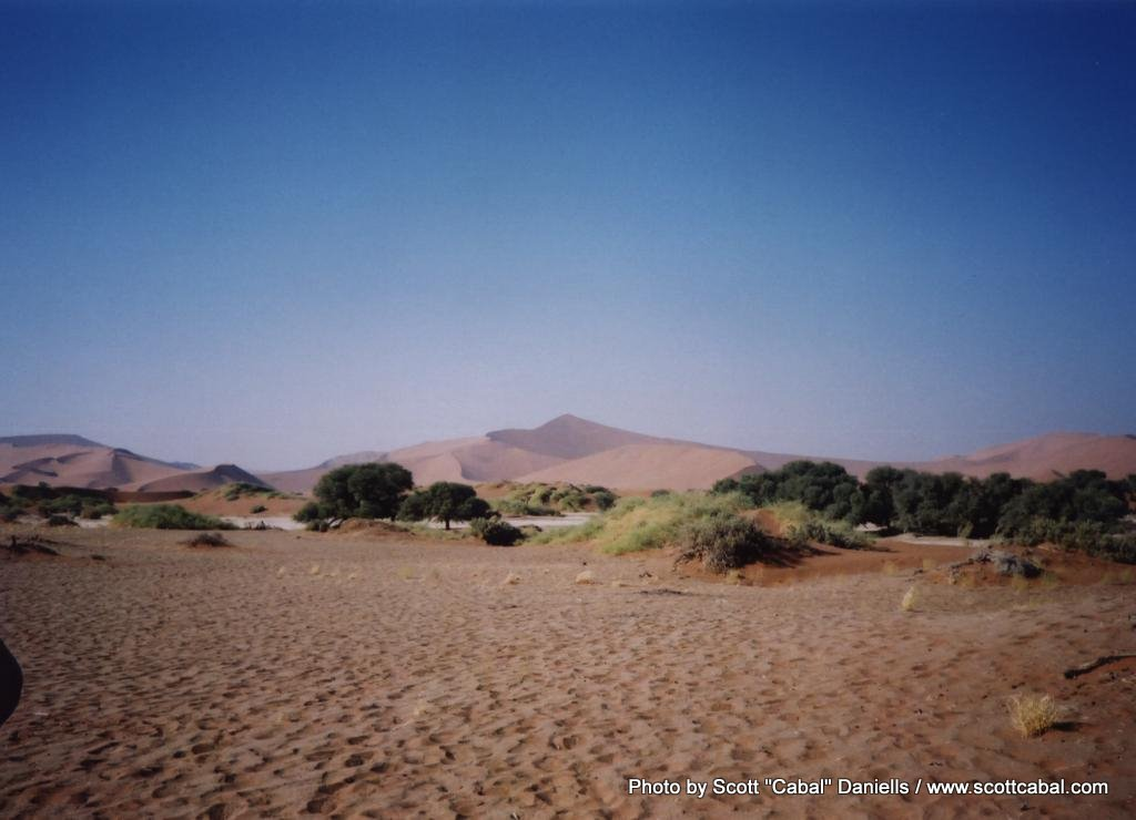 Tallest sand dune in the world