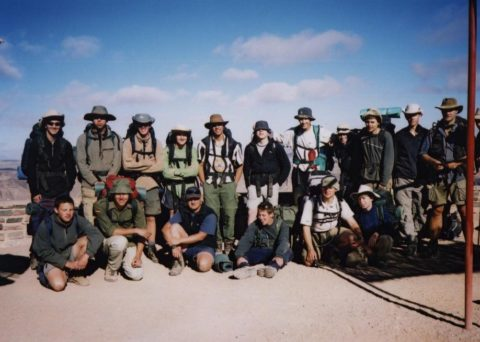 The blog of my 2002 Namibia trip is back online