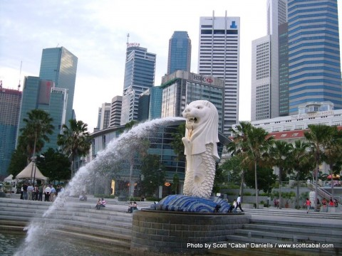 Singapore is warm but nice!