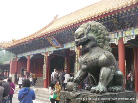 A long day in Beijing