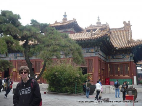 Beijing and back to the UK