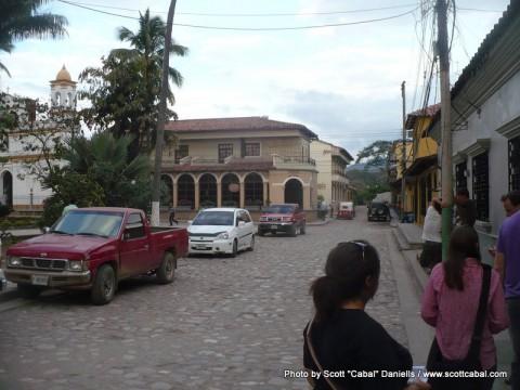 Into Honduras