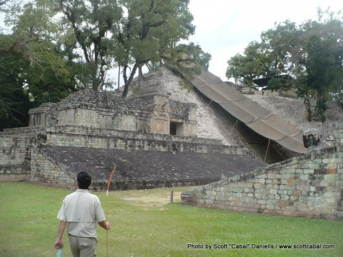 Mayan ruins and a survival experience