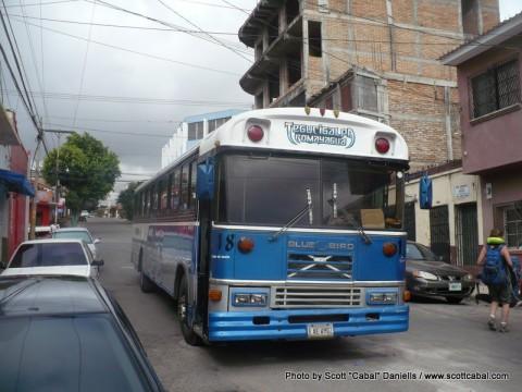 Crossing into Nicaragua