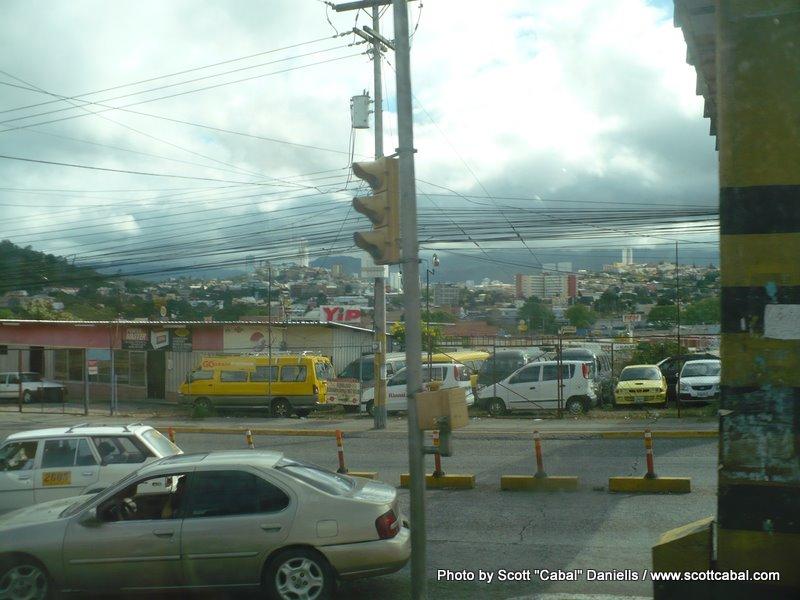 Tegucigalpa was chaos