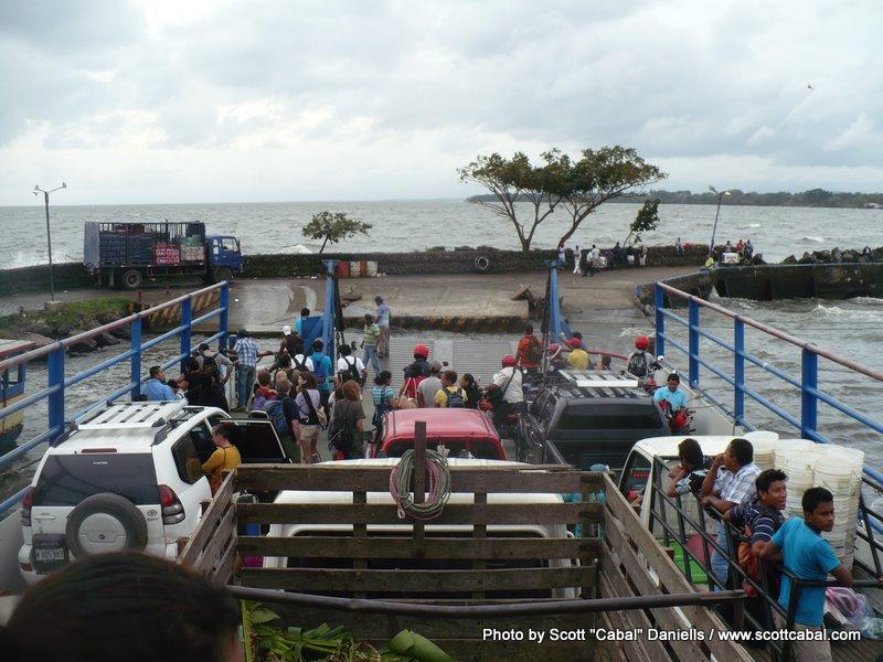 Back on the Nicaraguan mainland