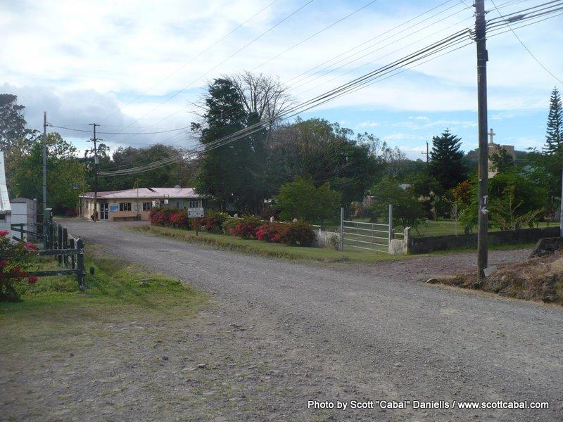 A Costa Rican mountain village