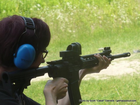 Visiting a Kiev Shooting Range