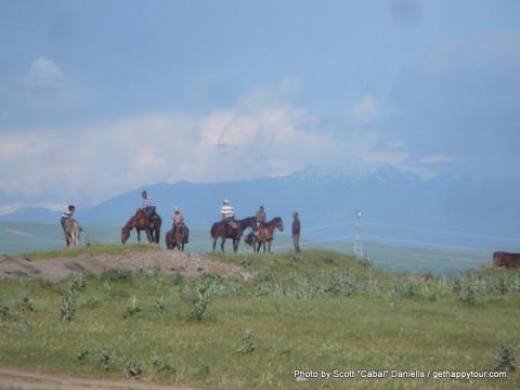 Into Kyrgyzstan