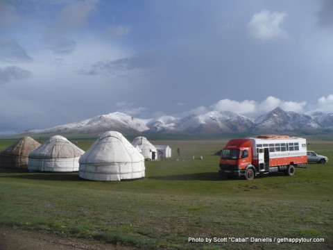 From Song-Kul to Kochkor