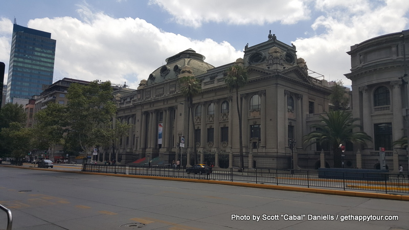 National Library in Santiago
