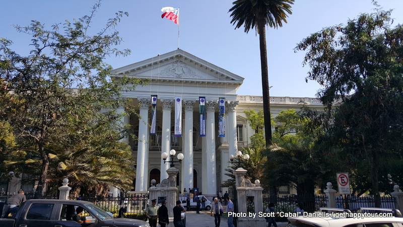 This is the old Chilean Parliament building