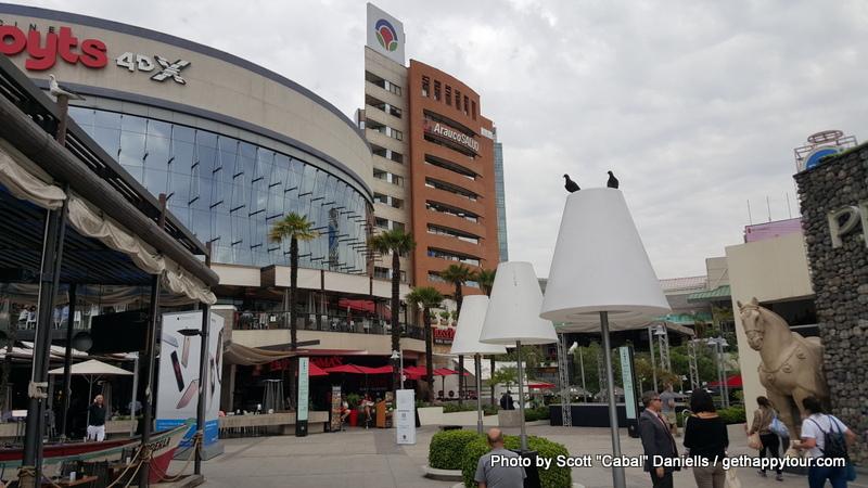 Mall Parque Arauco, Santiago
